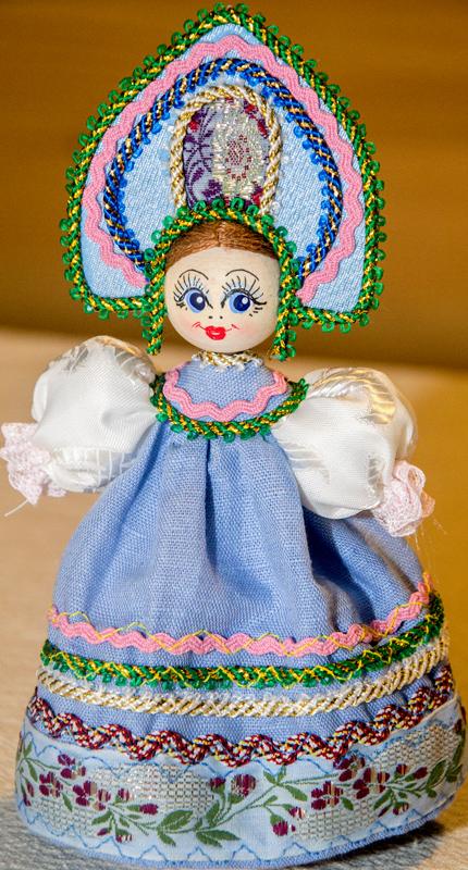 Куклы в русском костюме своими руками